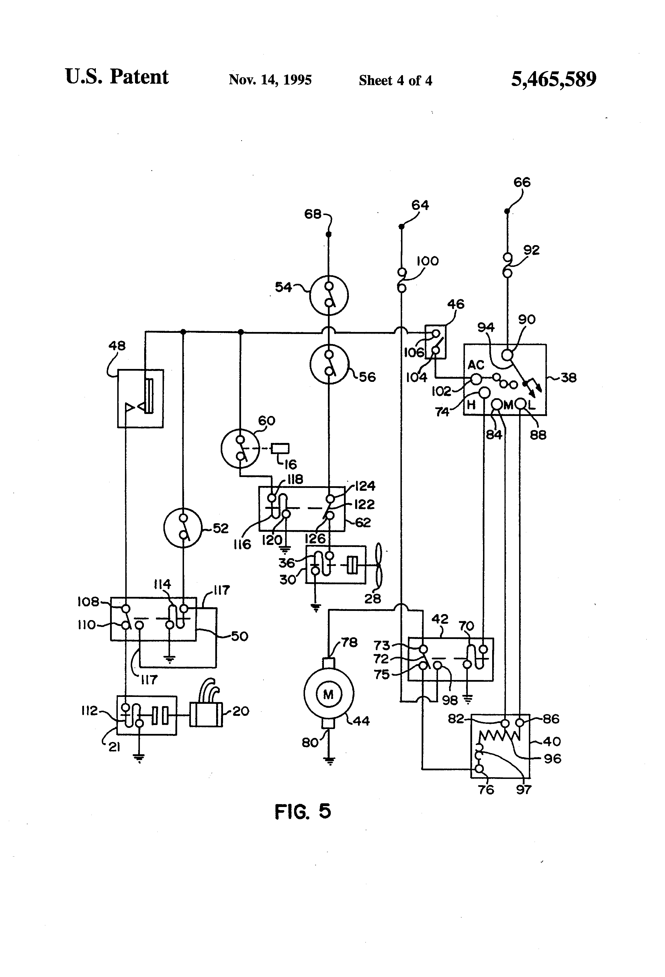 US5465589 4 air alarm wiring diagram 2001 international 4900 2012 International Truck Electrical Diagrams at reclaimingppi.co