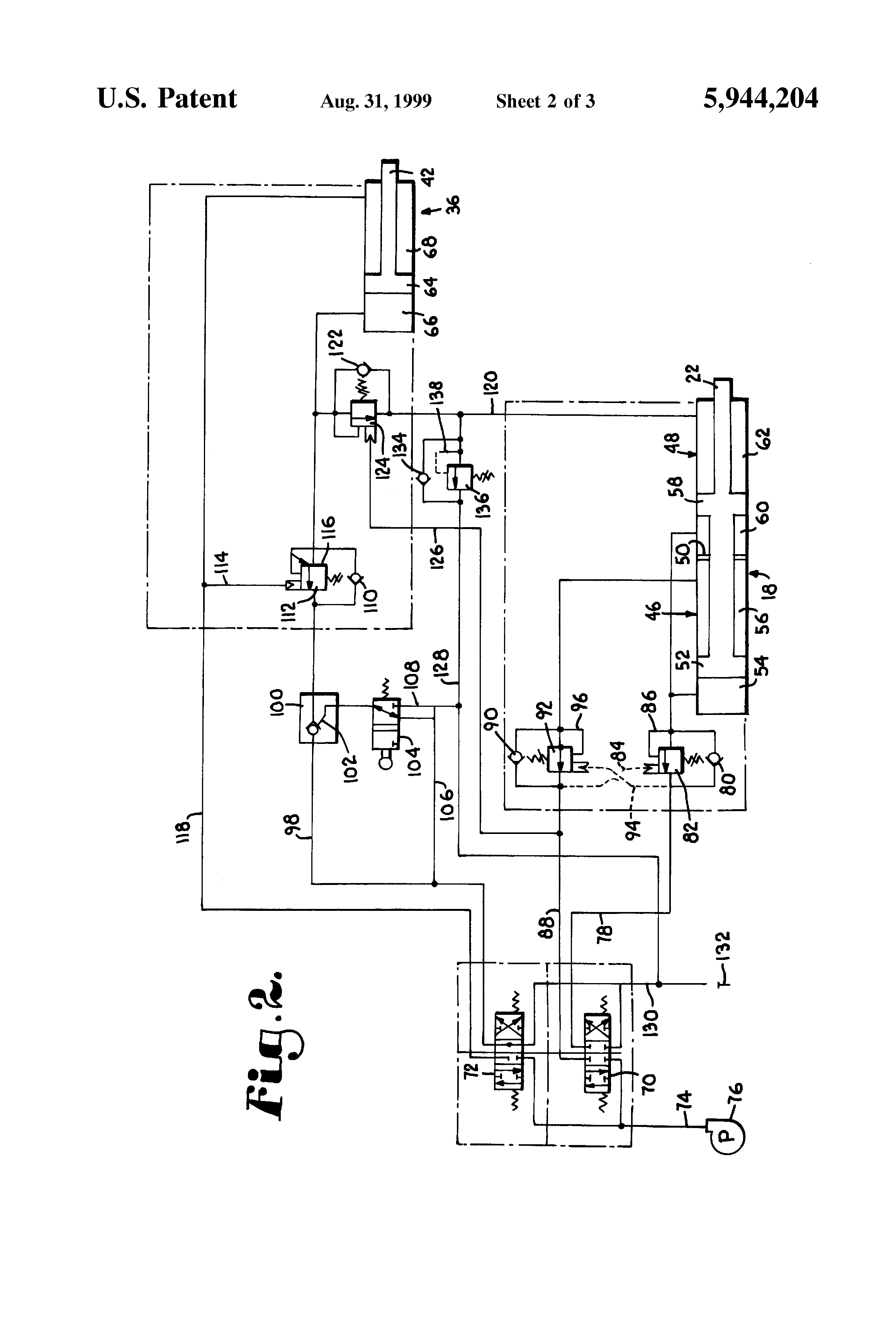 4 Way 3 Position Hydraulic Valve Schematic