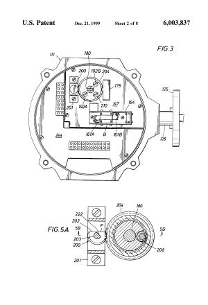 Patent US6003837  Valve actuator  Google Patents
