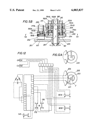 Patent US6003837  Valve actuator  Google Patents