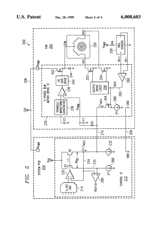 Patent US6008603  Brushless DC motor assembly control