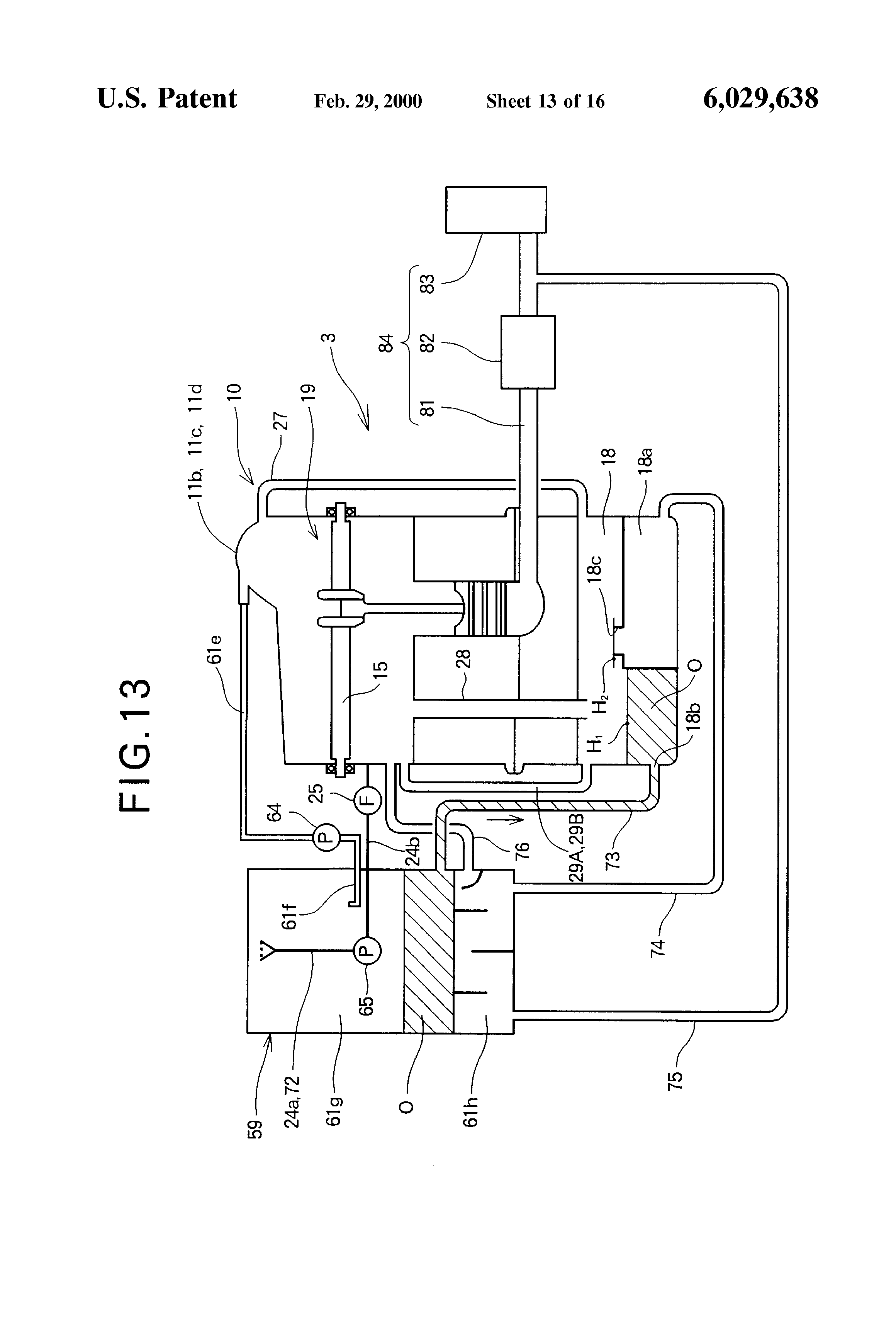 Internal Combustion Engine With Dry Sump Lubricating System