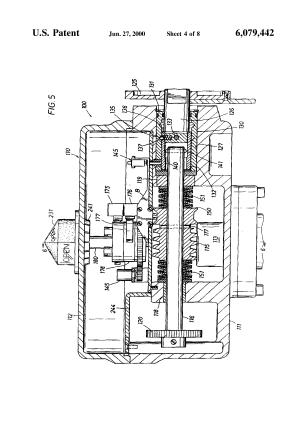 Patent US6079442  Valve actuator  Google Patents