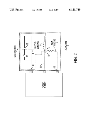 Patent US6121749  Variablespeed drive for singlephase motors  Google Patents