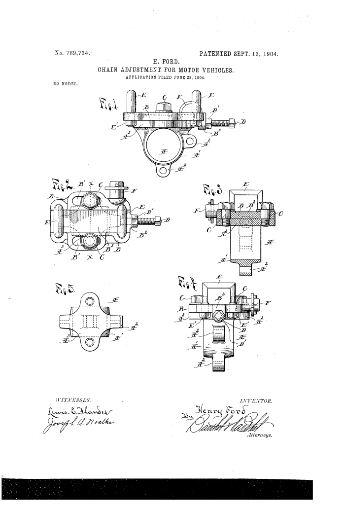 Henry Ford Random Patents #7