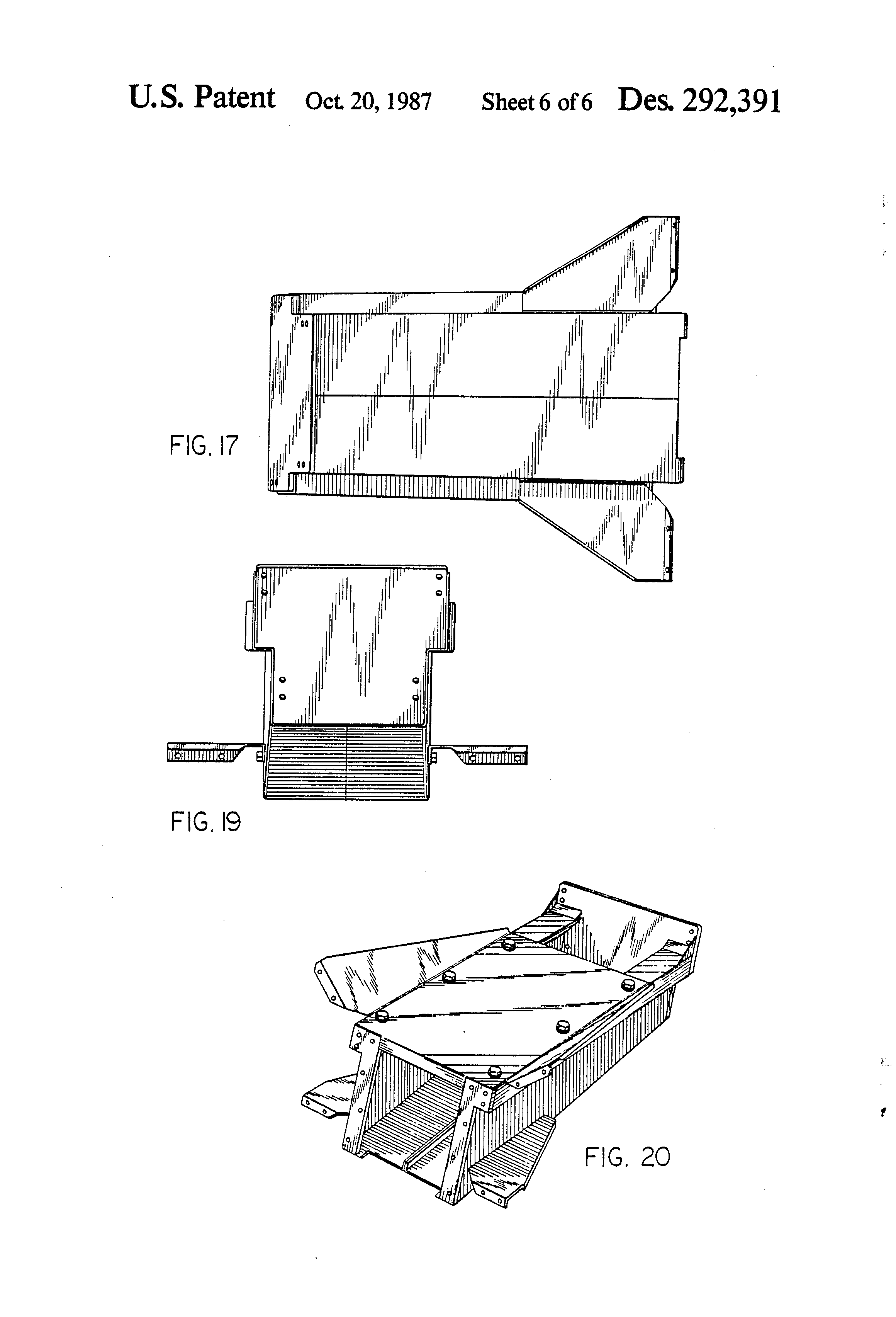 Engine Storage Stand Plans
