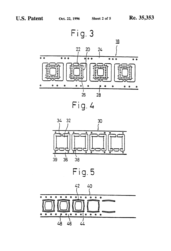 Patent USRE35353 - Process for manufacturing a multi-layer ...