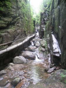 Hike up the Flume Gorge