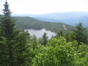 View from Gondola Ride to Top of Loon Mountain