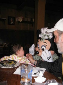 Character visits @ a Disney World Restaurant
