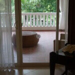 Balcony of Presidential Suite ($110/night) @ LIfestyle Resort