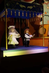 "The nod to Jews in the ""It's a Small World"" ride."