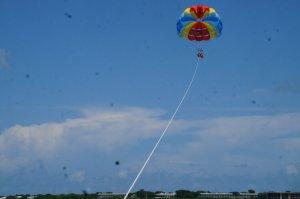 Parasailing @ Caribbean Water Sports, Key West, Fl.