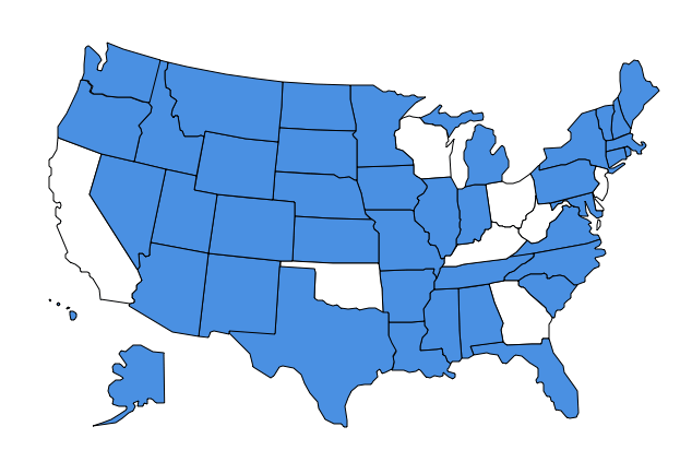 US States - AG action