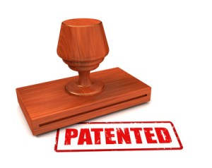patented rubber stamp