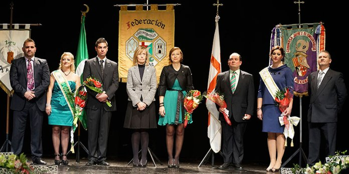 Presentación Cargos Festeros Intercomparsas 2014