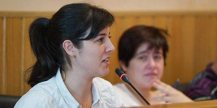 Beatriz Serrano, portavoz de Paterna Sí Puede