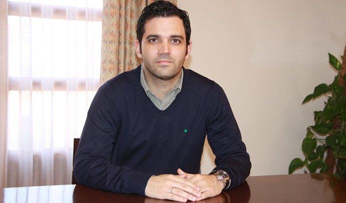 Juan Antonio Sagredo, alcalde de Paterna