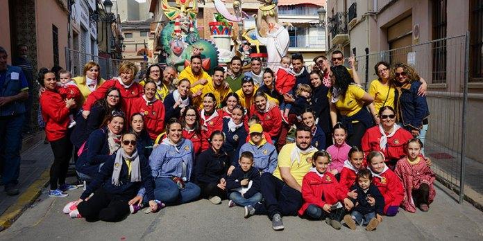 Falleros de San Roque celebran su Primer premio en Categoría Infantil