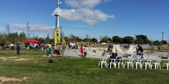 Instante de la jornada en el Skatepark de Paterna