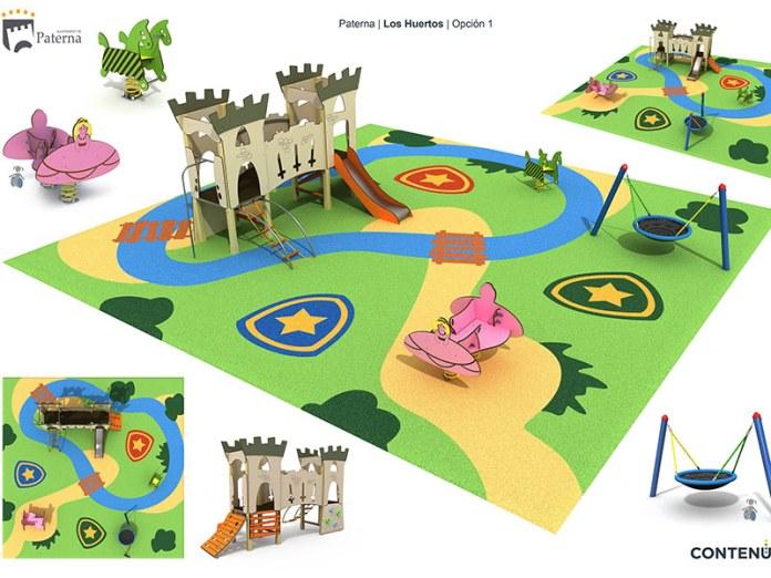 Diseño del parque elegido por los vecinos