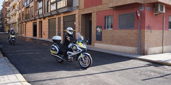 Unidad Delta de la Policía Local de Paterna