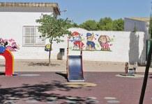 Zona de juego del colegio Jaume I