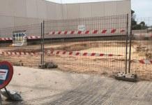 Solar donde se construirá el retén de Policía en La Canyada