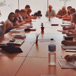 Instante de la reunión