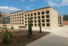 Imagen de los nuevos nichos del cementerio de Paterna