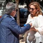 La candidata popular María Villajos