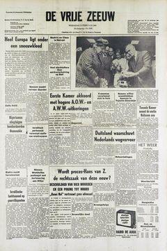 De Vrije Zeeuw, nº 5920, 12 février 1969, p. 1
