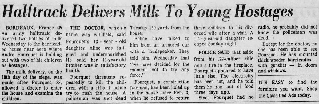 Orlando Sentinel, vol. 84, nº 276, 13/02/1969, p. 2-B