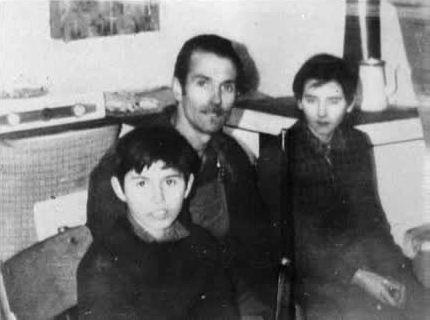 Francis, André et Aline Fourquet (© Jean-Gérard Maingot)
