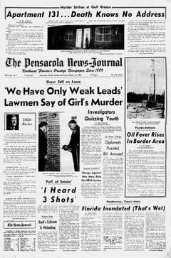 The Pensacola News-Journal, nº 7, 16 février 1969, p. 1