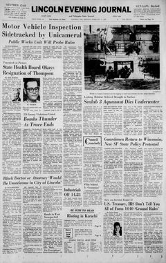 Lincoln Evening Journal, nº 41, 17/02/1969, p. 1