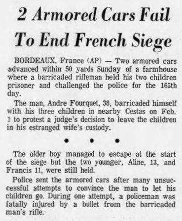 Star-Gazette, vol. 7, nº 14, 17 février 1969, p. 1