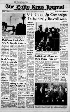 The Daily News Journal, vol. CXVI, nº 296, 17/02/1969, p. 1