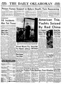 The Daily Oklahoman, Vol. 78, nº 43, 17/02/1969, p. 1
