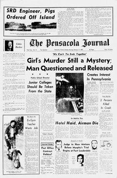 The Pensacola Journal, nº 41, 17 février 1969, p. 1