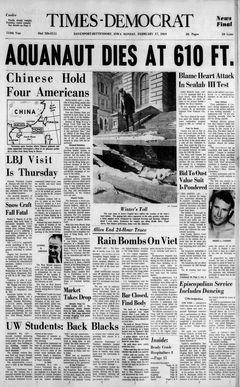 Times-Democrat, 17/02/1969, p. 1