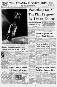 The Atlanta Constitution, vol. 101, nº 207, 18/02/1969, p. 1