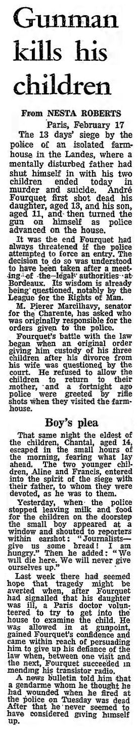 The Guardian, 18/02/1969, p. 1