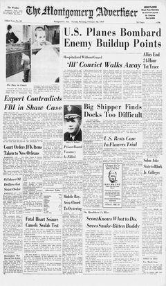 The Montgomery Advertiser, nº 42, 18/02/1969, p. 1