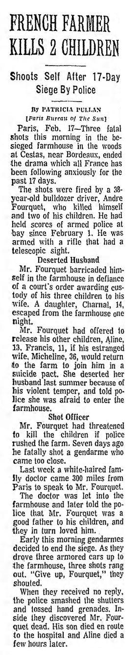 The Sun, vol. 264, nº 79, 18/02/1969, p. A3