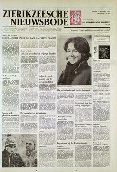 Zierikzeesche Nieuwsbode, nº 20151, 18 février 1969, p. 1