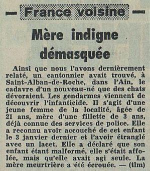 Tribune de Lausanne, nº 50, 19 février 1969, p. 11