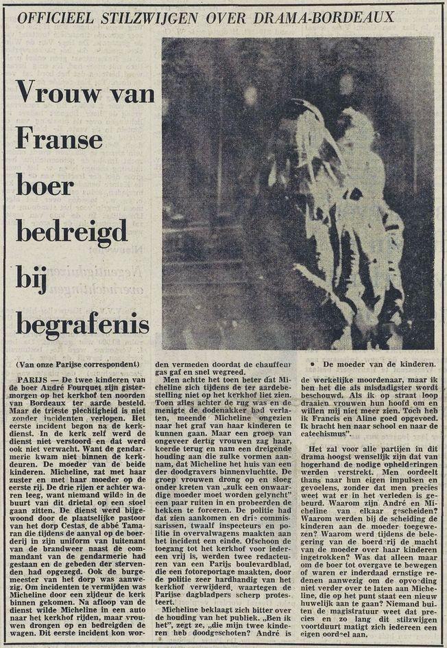 De Stem, nº 26050, 20/02/1969, p. 1