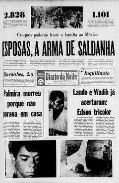 Diário da Noite, nº 13348, 20/02/1969, p. 1