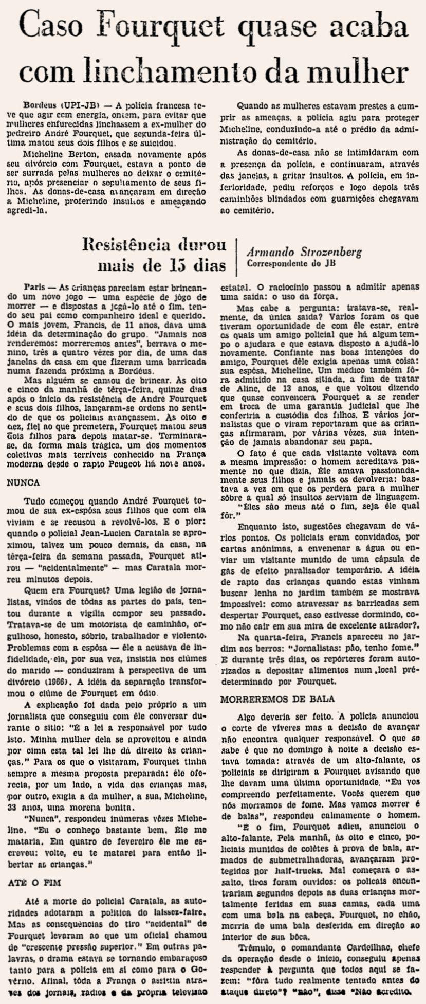 Jornal do Brasil, nº 267, 20/02/1969, p. 11
